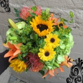 """Yesterday..."" Vased Arrangement in Auburn, Alabama 