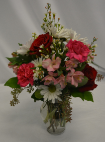 TOUCH OF PINK MIX Flower Arrangement