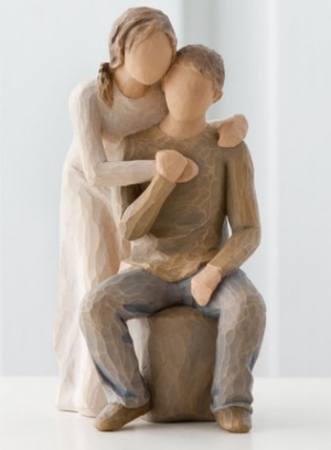 You and Me Willow Tree® by Susan Lordi Gift  in Spanish Fork, UT   CARY'S DESIGNS FLORAL & GIFT SHOP