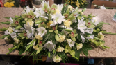 You are always on my mind - Casket arrangement **color can be changed as per request**