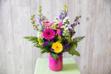 You Are Appreciated Vase Arrangement