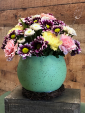 You are EGGstra Special Egg container with spring flowers