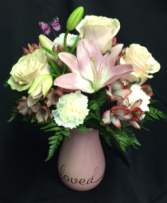 You are Loved Breast Cancer Awareness Arrangement