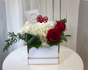 You Are Loved Floral Arrangement with Bracelet  in Woodbridge, ON | PRIMAVERA FLOWERS & MORE