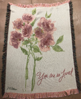 You are Loved Throw Throw