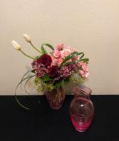 You Are My Love Keepsake Vase Arrangement