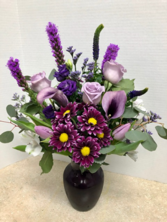 You Are My Passion Bouquet All Around Vase