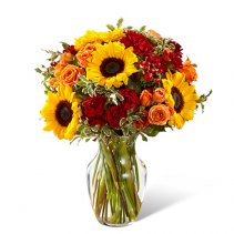 You Are My Sunshine Bouquet Vase Arrangement