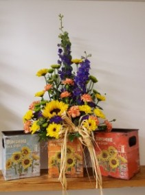 You are my Sunshine Bright colorful arrangement