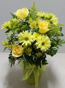 You are my Sunshine  Fresh Flower arrangement