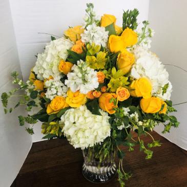 You are my Sunshine Luxury Vase arrangement