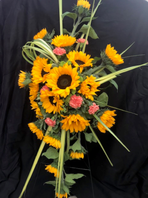 You are my Sunshine Standing Spray in Coleman, WI | COLEMAN FLORAL & GREENHOUSES