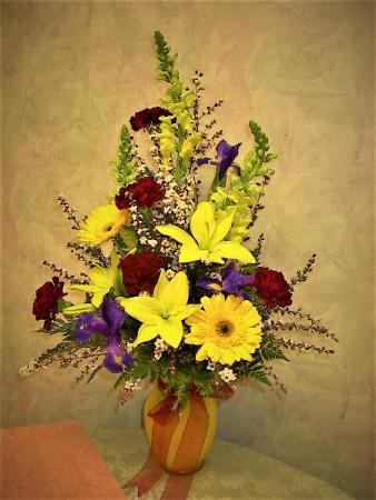 You are my sunshine! vase arrangement