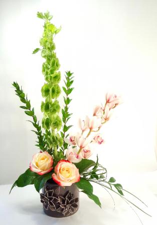 You Are Treasured  Cymbidum Orchid Design