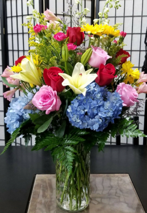 You're The Best! Vased Bouquet in Indianapolis, IN | SHADELAND FLOWER SHOP