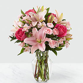 You had Me at Pink - 131 Vase arrangement