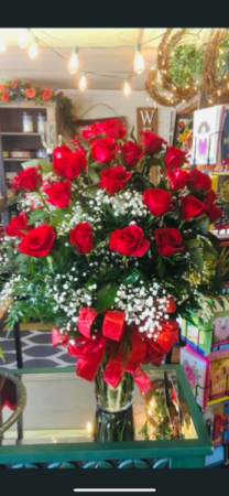 You have my Heart  2 dozen Roses
