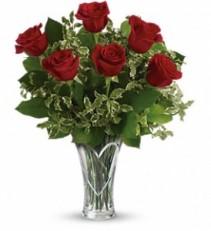 You Have My Heart Bouquet Rose Arrangement