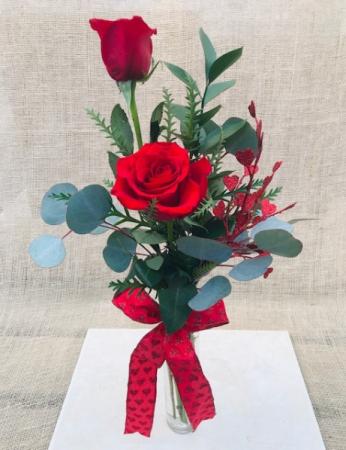 You & I Rose Vase