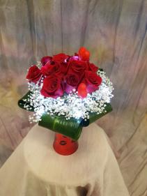 You Light Up My Life Vase arrangement