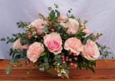 You Make Me Blush Vase Arrangement