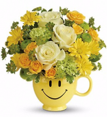 You Make Me Smile Bouquet Arrangement