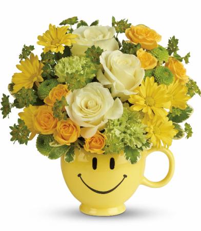 You Make Me Smile T600-1A  by Teleflora