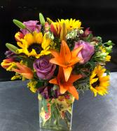 You Make me Smile   Vase Arrangement