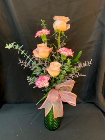 You, Me, Us Vase Arrangement
