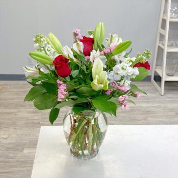 You & Me Vase Arrangement