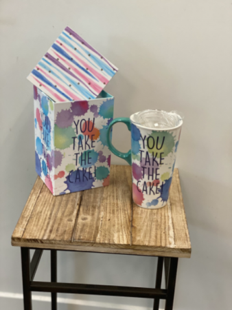 You take the Cake Mug and Gift Box