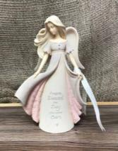 You'll always have a piece of my heart Ceramic angel
