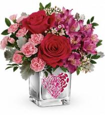 Young At Heart Bouquet Vase arrangement