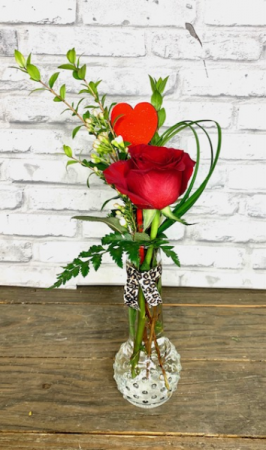 Young Love Bud Vase custom