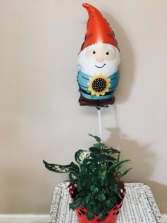 Your  gnome is home Planter garden