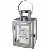 Your Light Will Always Shine Mini lighted lantern