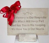 Your Memory Is Our Keepsake Garden Stone