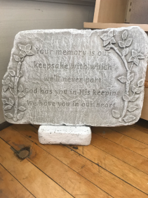 Your Memory is our Keepsake Memorial Stone