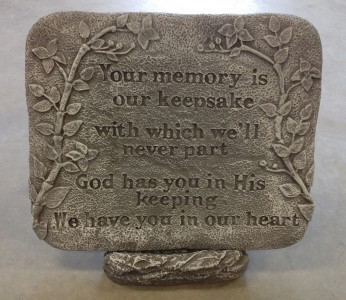 Your Memory is our Keepsake Other plaques under Best Sellers