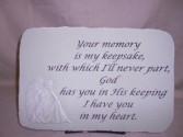 """Your Memory"" Sympathy Stone Sympathy"