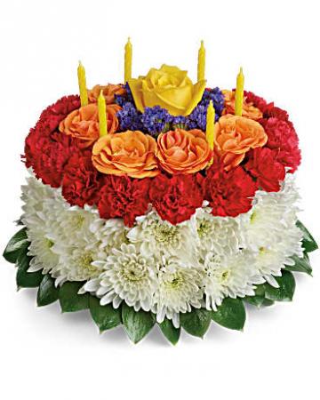 Your Perfect Birthday Wish Cake plate