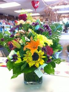 I Love Your  Smile! Vase Arrangement
