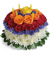 Your Wish is Granted-- Birthday cake bouquet
