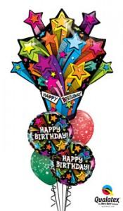 Birthday explosion balloons in Edmonton, AB   BALLOONS, BEARS, & BOUQUETS