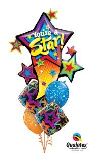 You're a STAR balloons