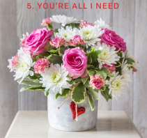 You're All I Need Valentine