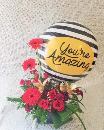 You're Amazing Flower Arrangement