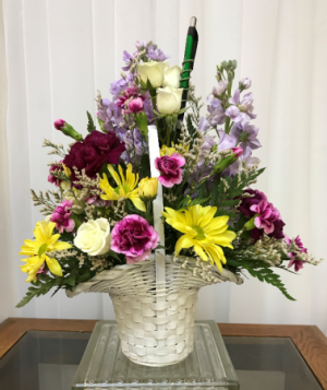 You're Appreciated  Basket all around. Colors will vary in Berwick, LA | TOWN & COUNTRY FLORIST & GIFTS, INC.