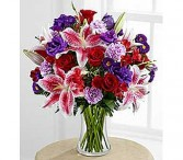 Be My Valentine Bouquet Vase Arrangement