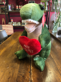 """You're Dino-mite"" Dinosaur Stuffed Animal"